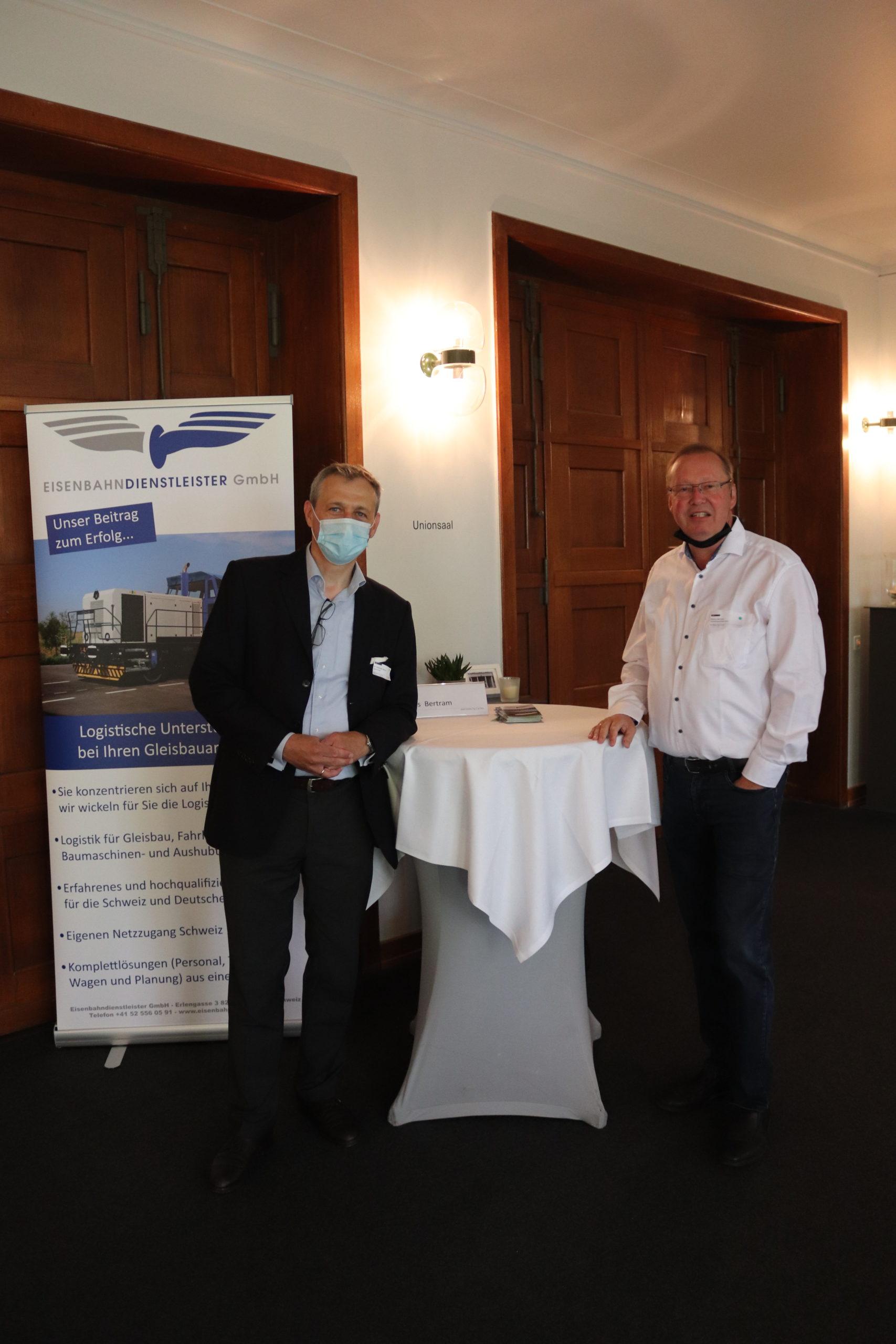 Markus Bertram von der EDG, Thayngen