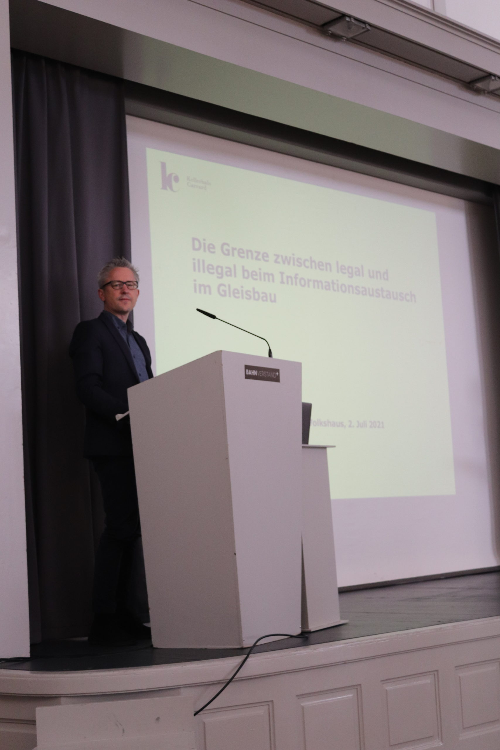 Dr. Daniel Emch, Rechtsanwalt und Partner von Kellerhals Carrard, Bern