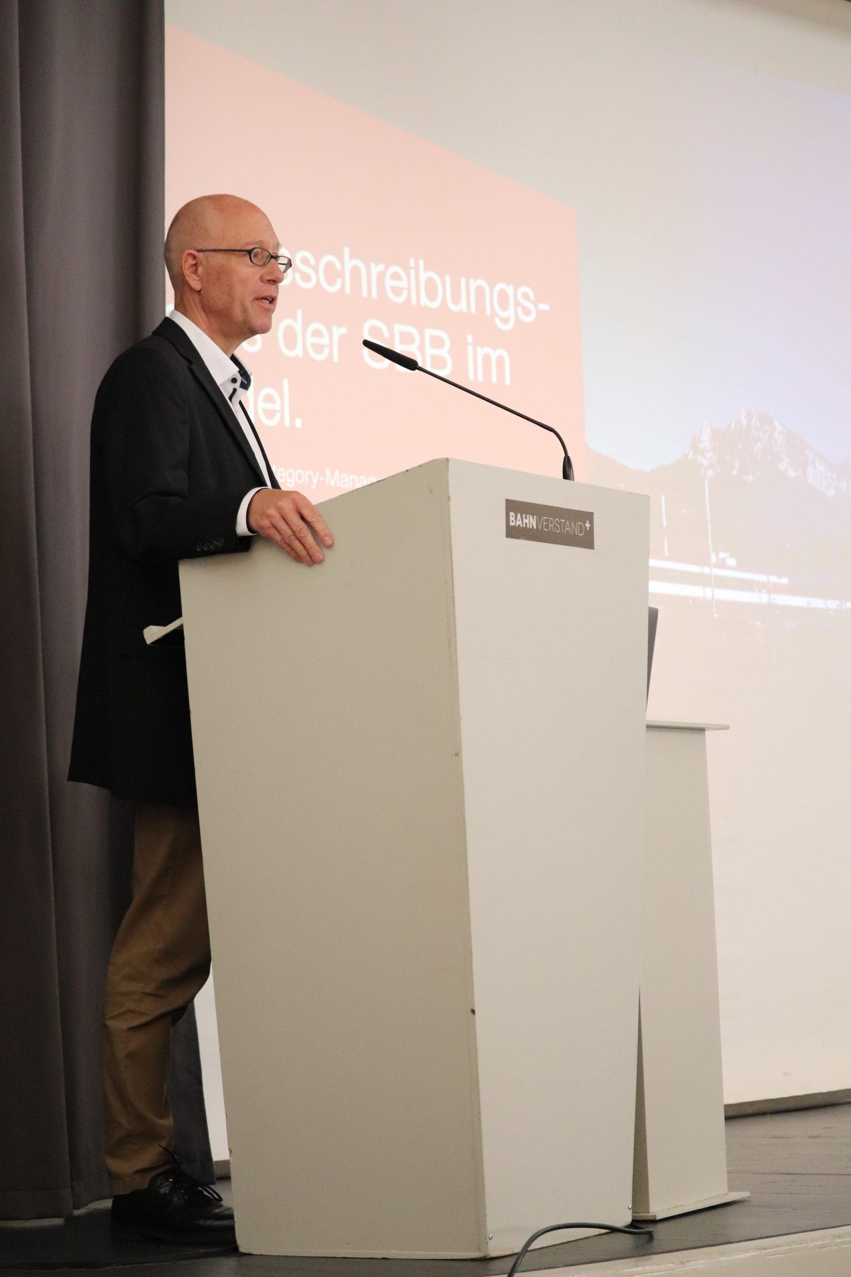 Andreas Streit, Category Managemer Strategischer Einkauf Fahrweg, SBB, Bern